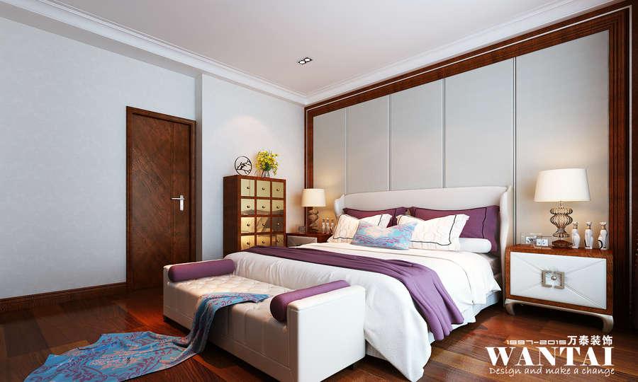 背景墙 房间 家居 酒店 设计 卧室 卧室装修 现代 装修 900_540图片