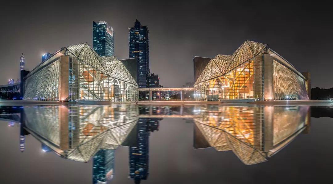 深圳图书馆与音乐厅图片