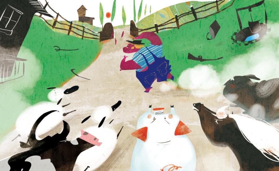 百词斩计划阅读-《动物庄园》插图以及电影|商奥特曼大传说银河封面大大图片