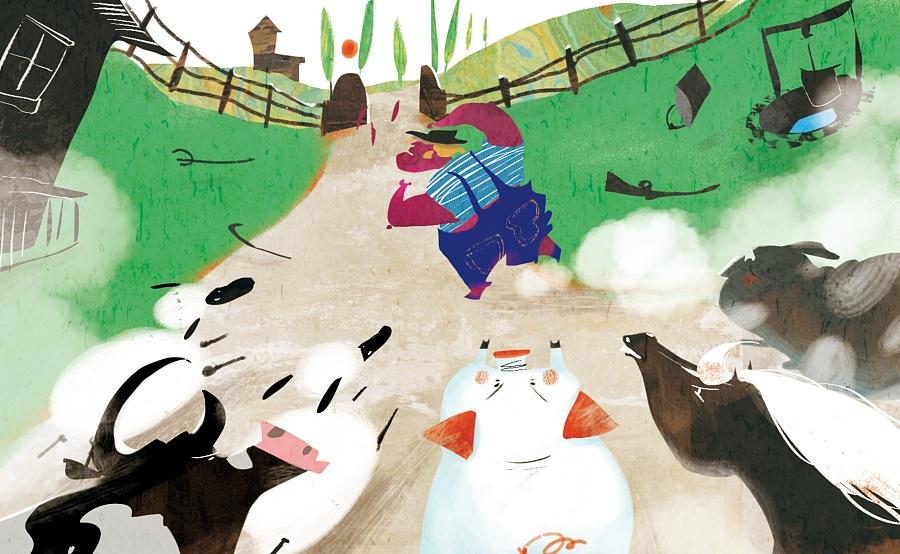 查看《百词斩阅读计划-《动物庄园》封面以及插图》原图,原图尺寸:2608x1606