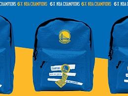 NBA 冠军展衍生品设计——勇士队 & 马刺队