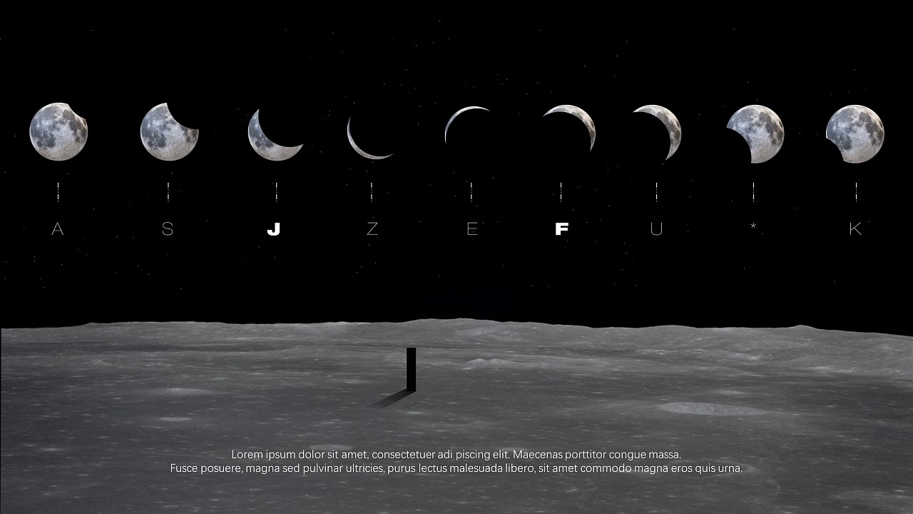 【实验】ppt三维新锐视觉-「真实宇宙计划」图片