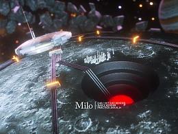 CG小场景 外星基地