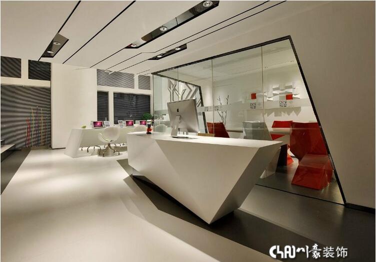 小型办公室装修丨小型办公室设计-现代简约办平面设计师资格证到哪里考图片