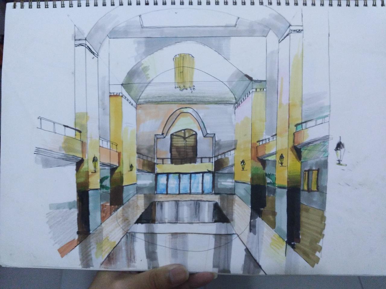 室内家具手绘稿|纯艺术|钢笔画|xiaoxiao强 - 原创