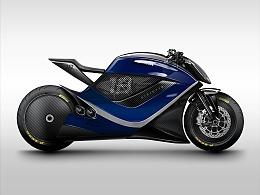 AI绘制摩托车