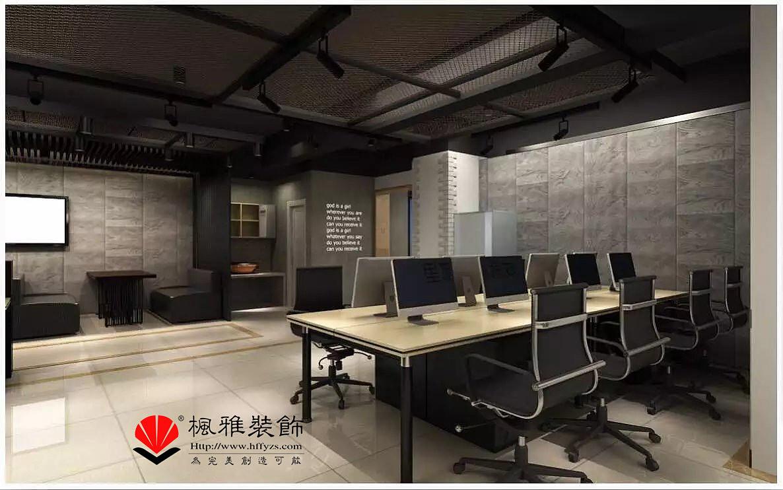 合肥loft风格办公室装修效果图图片