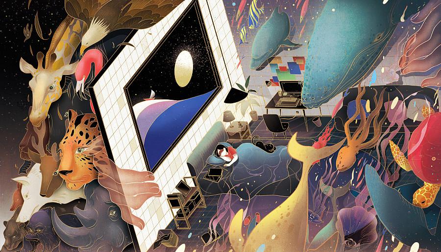 查看《倾斜的梦与房间》原图,原图尺寸:1749x1000