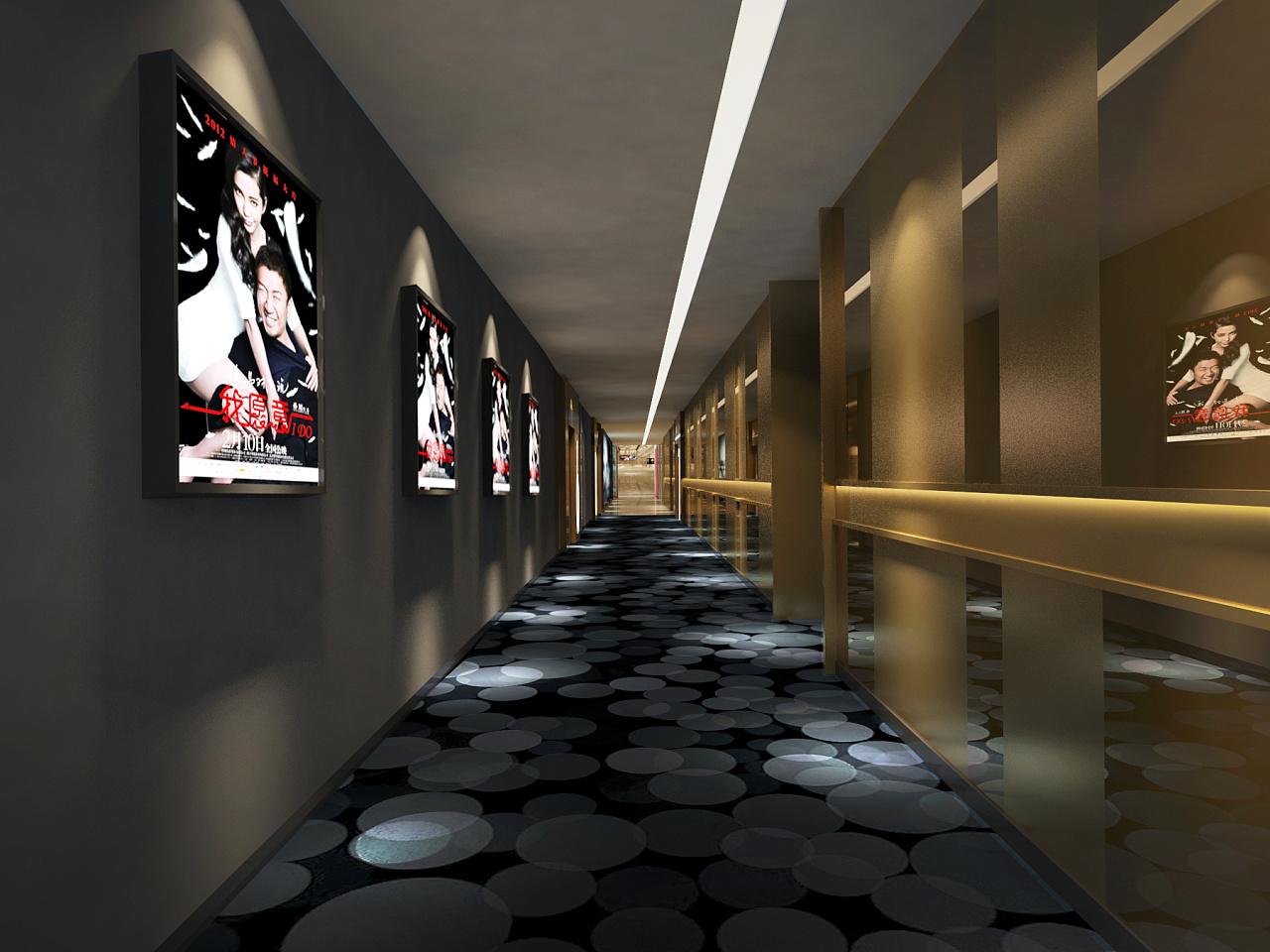 成都电影院装修设计室内2米4高吊顶做可以吗图片