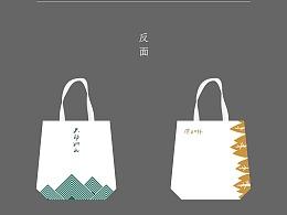 基础款帆布袋画面设计-风林火山