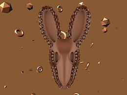 luckmouse鼠年抽象艺术装饰画