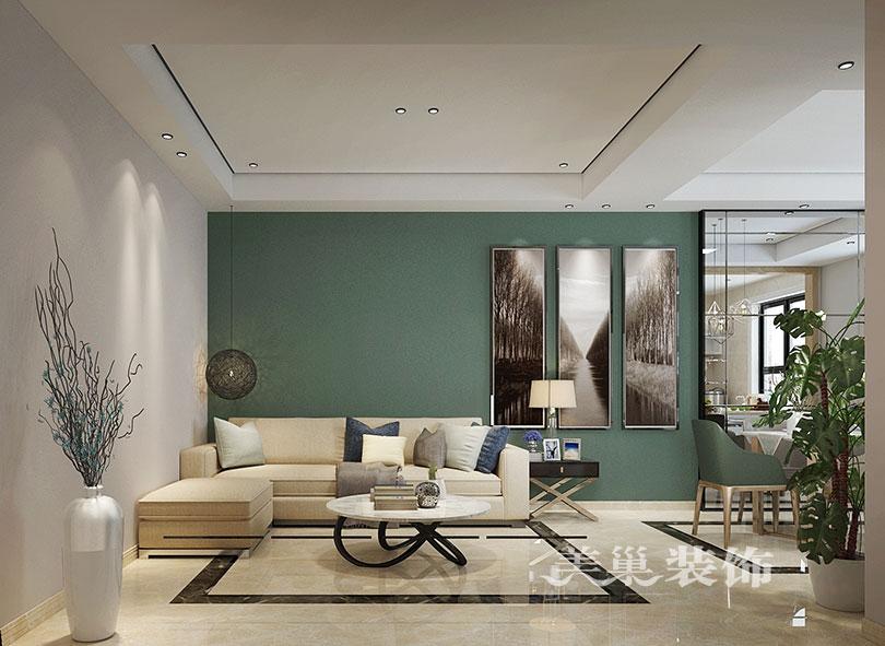天伦庄园160平现代简约风格叠加别墅装修案例