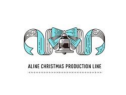 海报练习-|ALINE圣诞星工厂|圣诞快乐