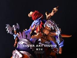 【糖艺社】魔兽世界主题翻糖蛋糕