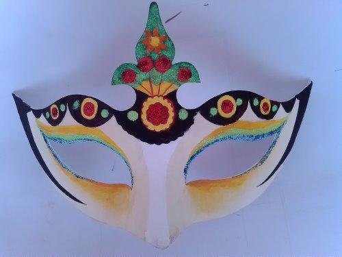 手绘中国风面具