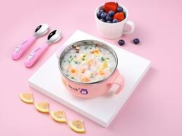 YIMI品牌 | 婴儿饭碗详情页设计 | 分享