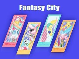 Fantasy City——GAME