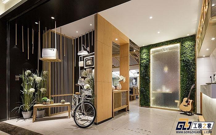西安工装设计图_西安餐饮连锁店装修设计图|空间|室内设计|工装之家装修网 ...