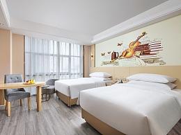 酒店建筑地产拍摄-嘉兴维也纳酒店南湖万达广场店