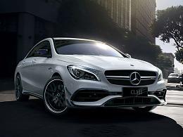 Mercedes benz AMG 45系列(CGI WORK)