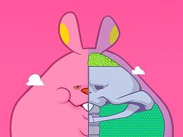 让你朋友圈变粉的兔子《并没有想象中温暖》