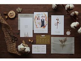 Xia&fofo 婚禮喜帖 WEDDING INVITATION CARD