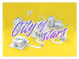 C4D练习*City of Stars*