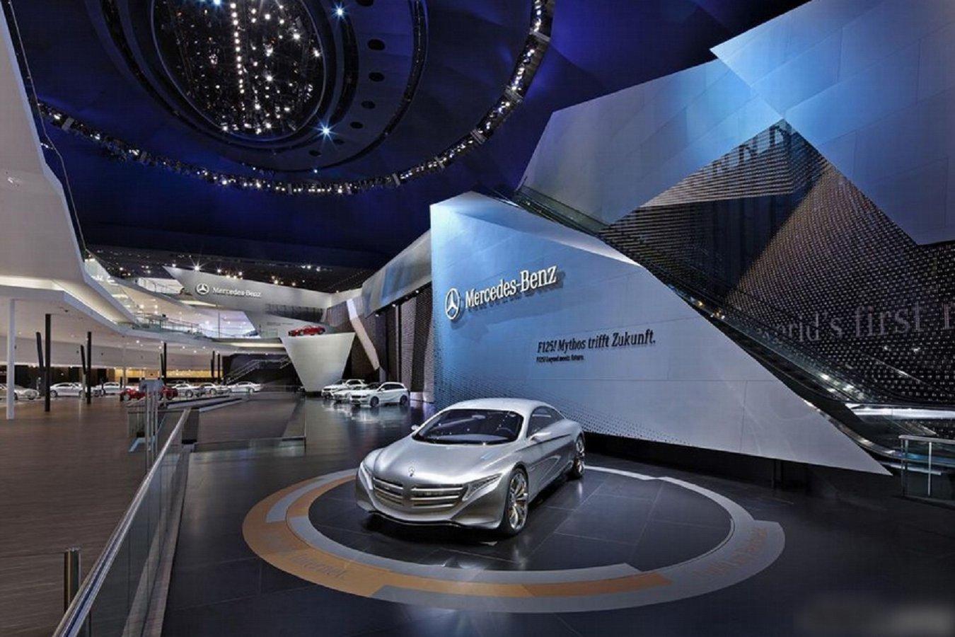 汽车展厅设计-4s店面设计-郑州中骏设计公司