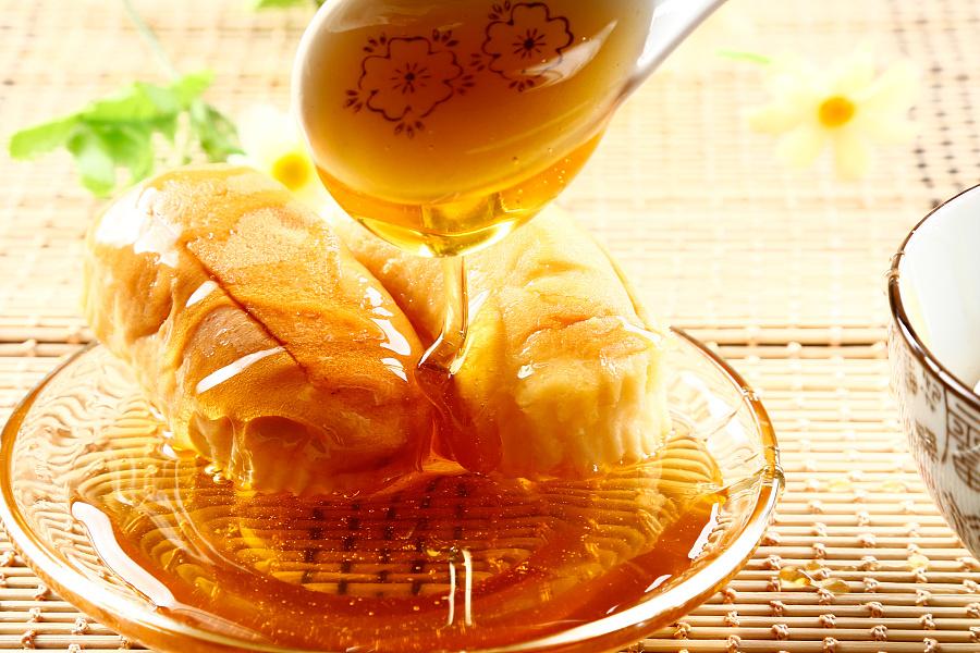 蜂蜜摄影作品详情页面设计图片