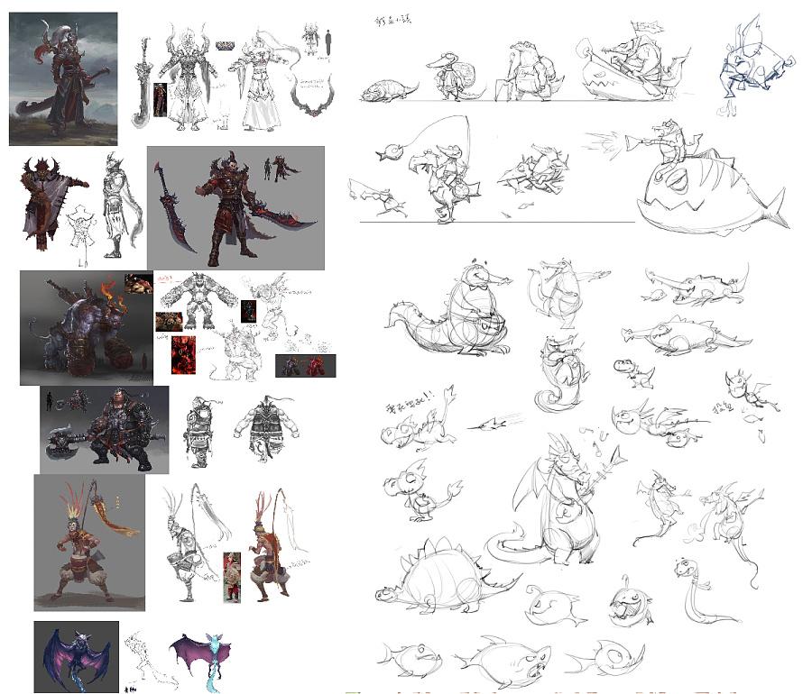 查看《游戏原画系列公开课-锦浩老师的原画作品「CGFUN漫画学院」》原图,原图尺寸:1200x1027