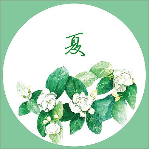 【壹水方】单季礼盒 水彩手绘 茶叶包装设计