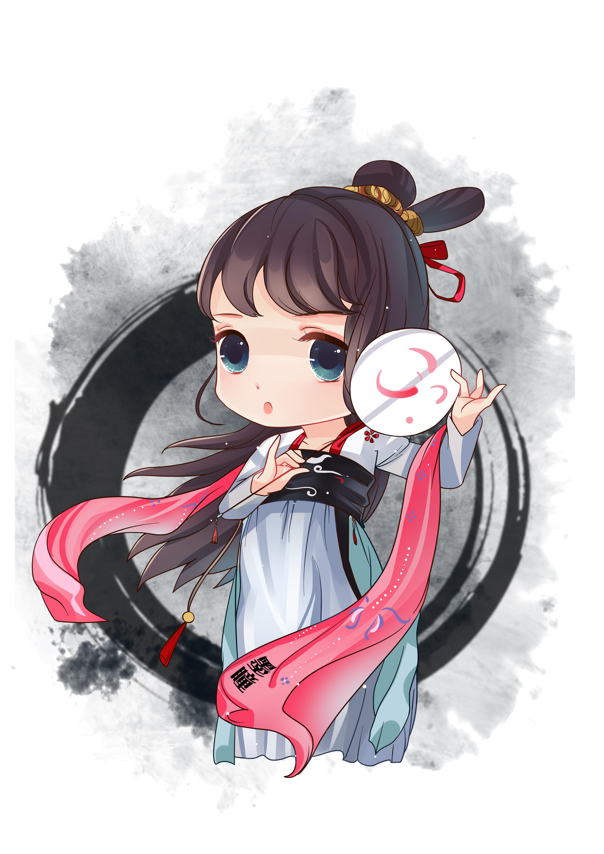 中国风q版角色