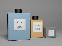 DR.JU药妆美妆vi设计
