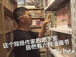 羽行记画vol.1 遇见在地下室有六吨漫画书的网络作家 by 天朝羽