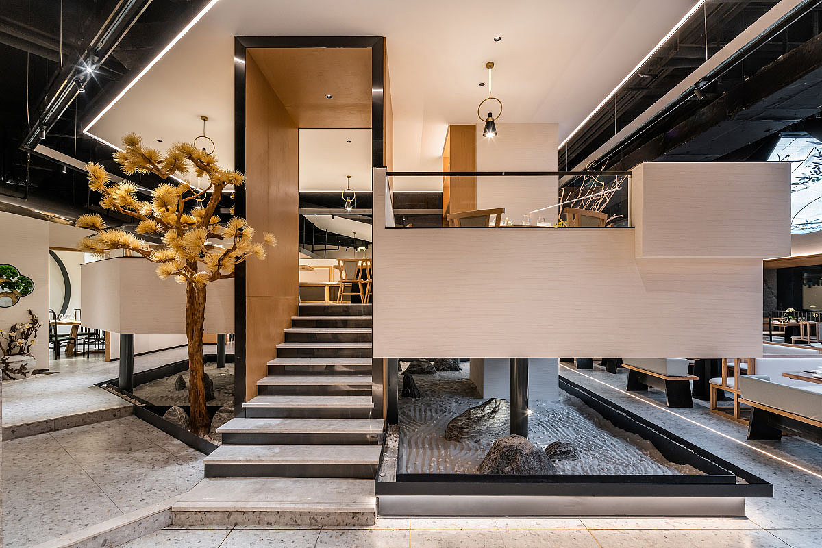 正餐店 · 餐饮空间设计-新陶然创意川菜 重庆店