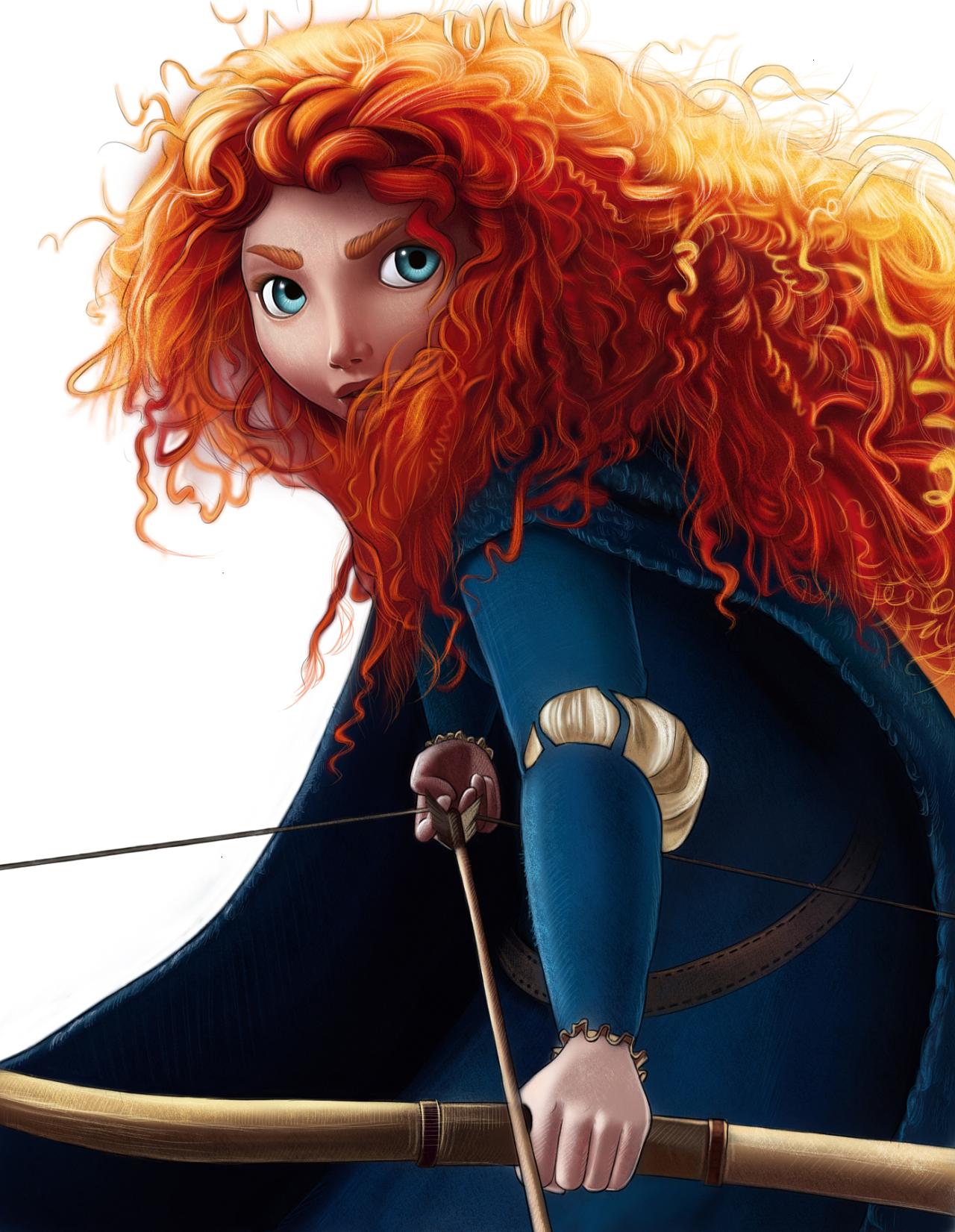 教你ps手绘:迪士尼-勇敢传说