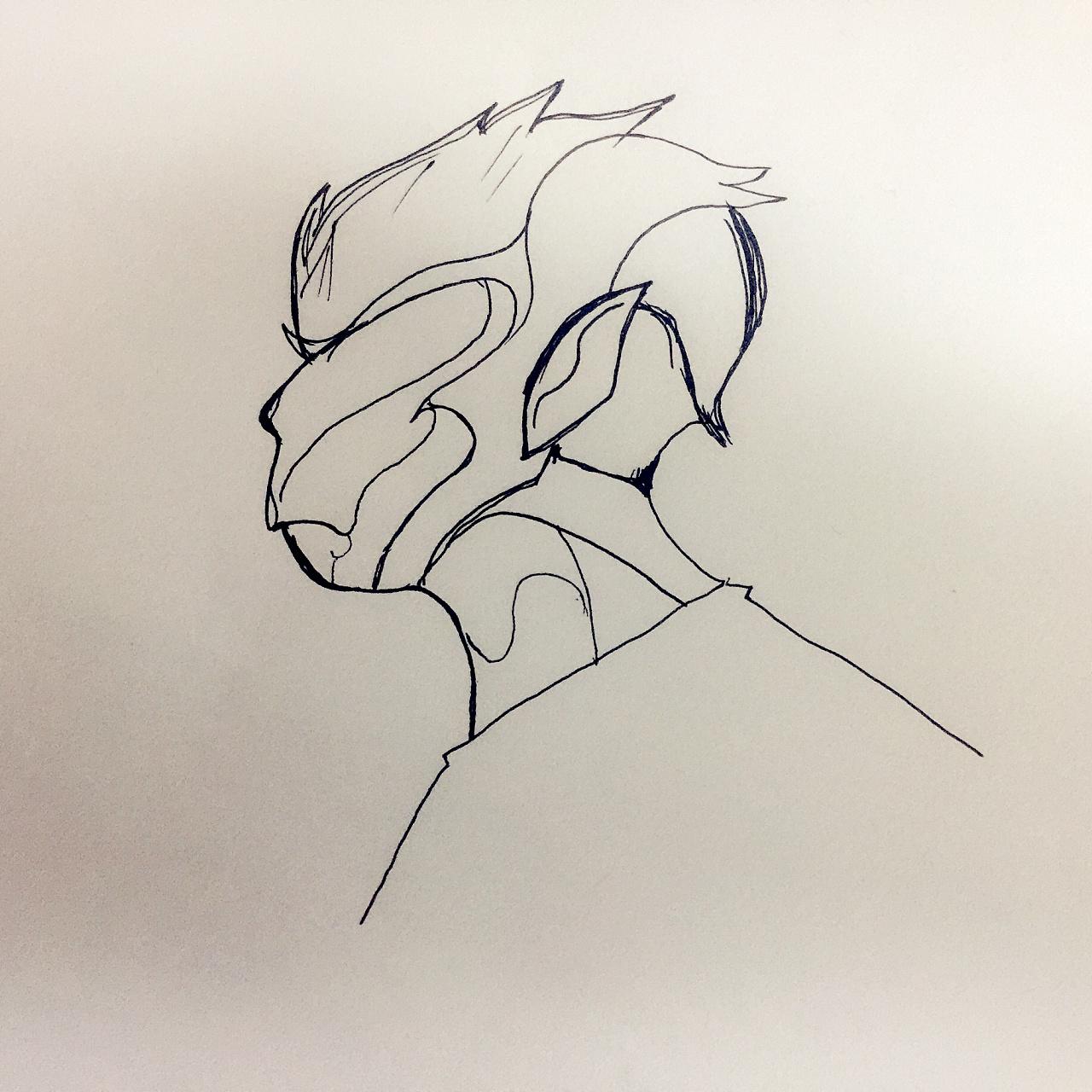 练习手绘基础,学习电脑转换,笔触粗糙,仍需