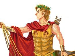 希腊诸神造型设定