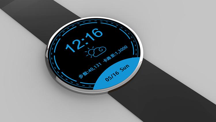 tencentos智能手表表盘|移动设备/app界面|ui|jiyu