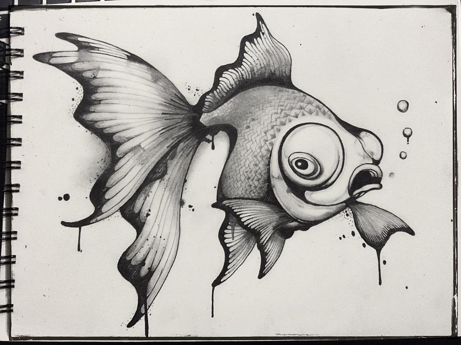 手绘作品|插画习作|插画|刘小燕子 - 原创设计作品