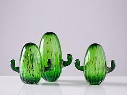 萌创系列  玻璃绿植仙人掌