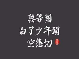 雨田手写(第二辑)