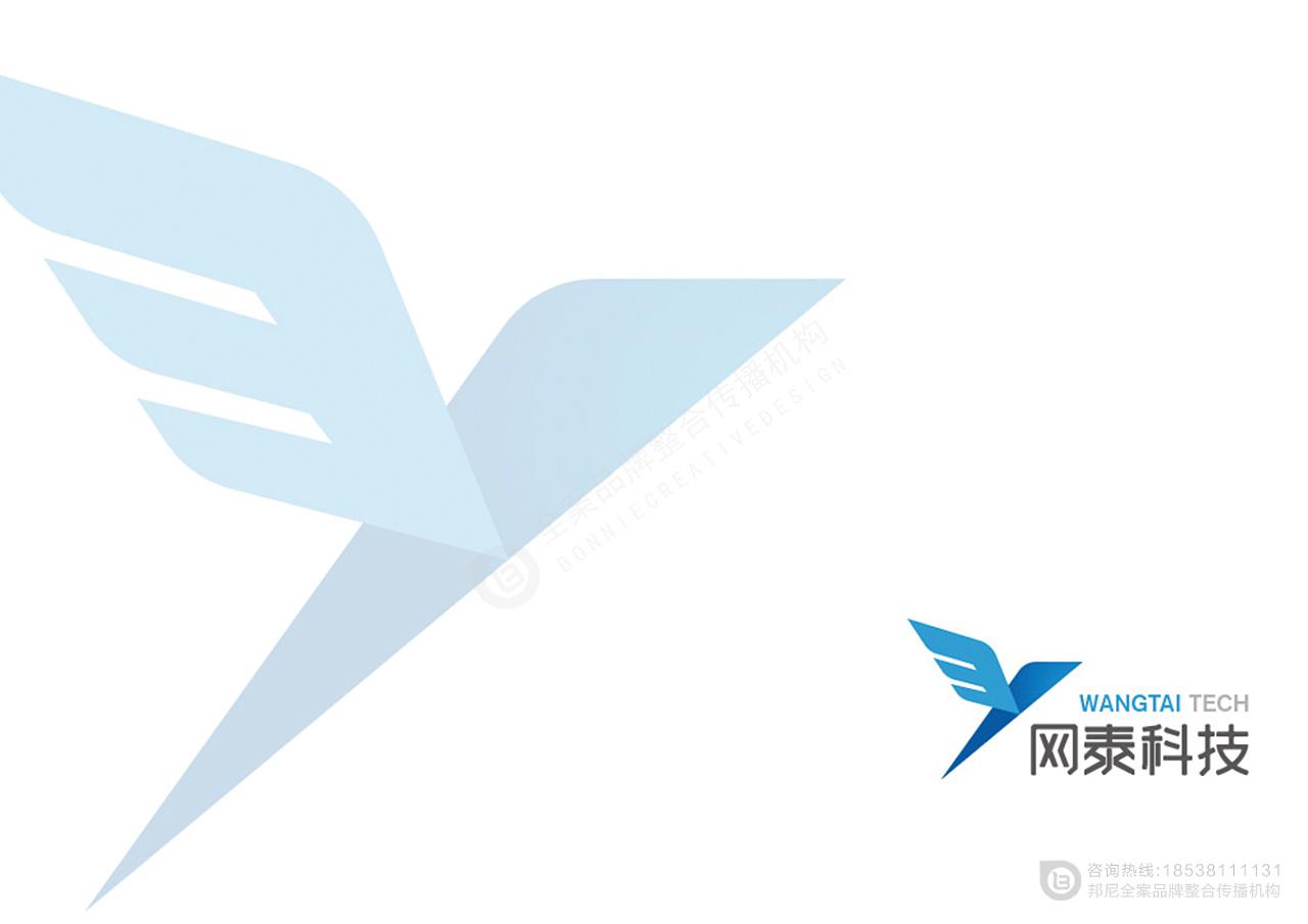 邦尼创意-网泰科技校园信息化服务logo设计-logo设计图片