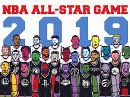NBA ALL-STAR GAME 2019 大集合