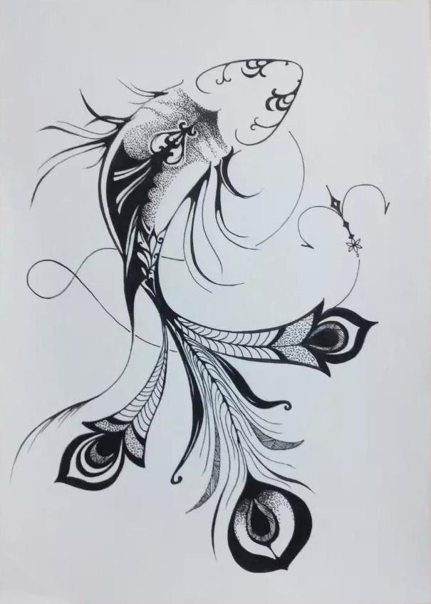 手绘·线描