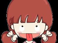 小女孩的好多表情包~哈哈图片