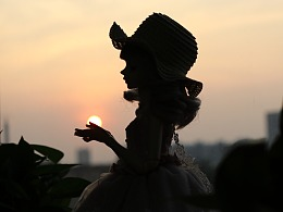 BJD【花花姑娘·倒影】阳光把你的影子,印入我的心房