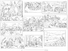 一些场景草图