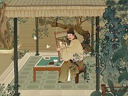 《友禧雅叙图卷》邀您入画/友邦保险X上海博物馆