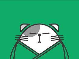 CatHome 猫家米铺 品牌设计 吉祥物设计